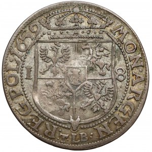 Jan II Kazimierz, Ort Kraków 1659 TLB - M.D.L.