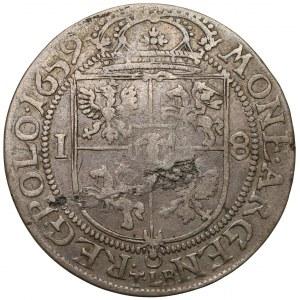 Jan II Kazimierz, Ort Kraków 1659 TLB - SV.M.D.