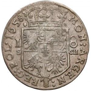 Jan II Kazimierz, Ort Kraków 1658 SCH - wczesny