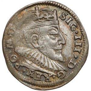 Zygmunt III Waza, Trojak Wilno 1591 - rozety
