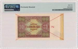 10 złotych 1946 - SPECIMEN
