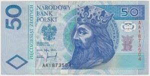 50 złotych 1994 - AA