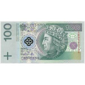 100 złotych 1994 - AB