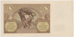 10 złotych 1940 - falsyfikat z epoki