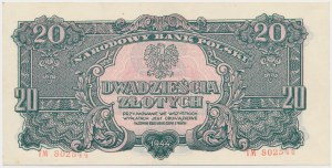 20 złotych 1944 ...owe - TM