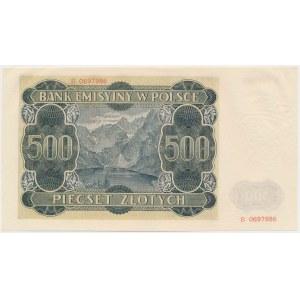 500 złotych 1940 - B