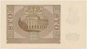 100 złotych 1940 - Ser.B - Falsyfikat ZWZ