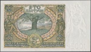 100 złotych 1934 +X+ w znaku wodnym