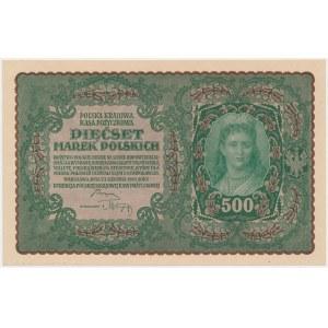 500 mkp 08.1919 - II Serja U