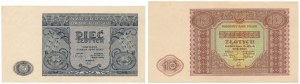 5 i 10 złotych 1946 (2szt)