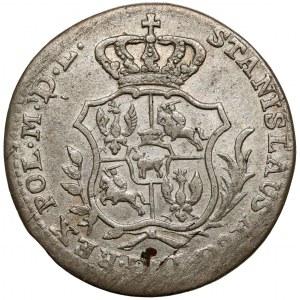 Poniatowski, Półzłotek 1766 F.S. - 6 listków