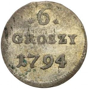 Poniatowski, 6 groszy 1794