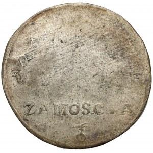 Oblężenie Zamościa, 2 złote 1813 - odwrócone N - b.rzadkie