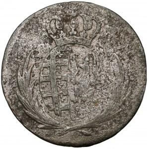 Księstwo Warszawskie, 5 groszy 1812 I.B. - data duża, wąsko