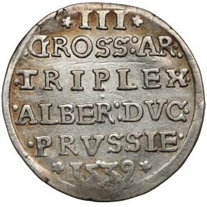 Prusy, Albrecht Hohenzollern, Trojak Królewiec 1539
