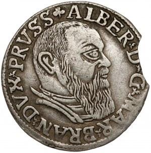 Prusy, Albrecht Hohenzollern, Trojak Królewiec 1541