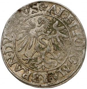 Prusy, Albrecht Hohenzollern, Grosz Królewiec 1535 - PRVS