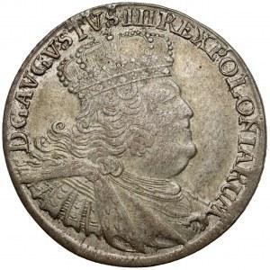 August III Sas, Ort Lipsk 1756 EC - masywne popiersie