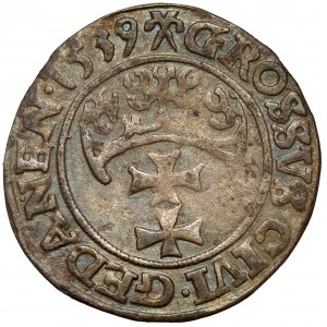 Zygmunt I Stary, Grosz Gdańsk 1539