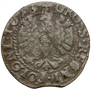 Zygmunt III Waza, Grosz Bydgoszcz 1613 - portretowy - rzadki