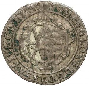 Sachsen, Johann Georg I, Silber Groschen 1639 SD, Dresden