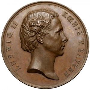 Niemcy, Bawaria, Ludwik II, Medal Nagrodowy - Bawarska Akademia Sztuk Pięknych