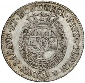 Włochy, Księstwo Sabaudii-Piemontu, Karol Emanuel III, 1/2 scudo 1766