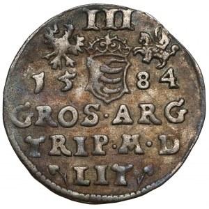 Stefan Batory, Trojak Wilno 1584 - zbroja płytowa
