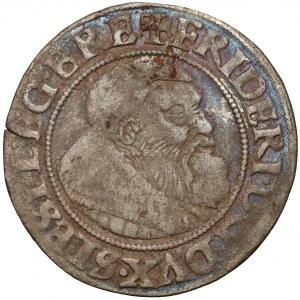 Śląsk, Fryderyk II, Grosz 1541, Legnica - rzadki rok