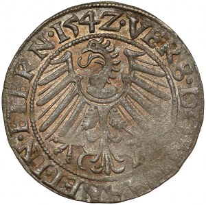 Śląsk, Fryderyk II, Grosz 1542, Legnica