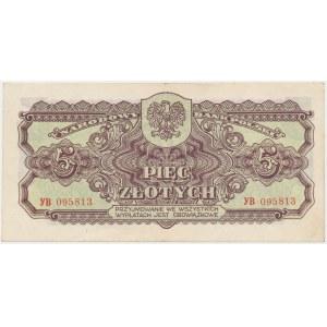 5 złotych 1944 ...owe - YB