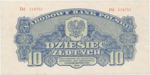 10 złotych 1944 ...owe - Dd