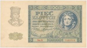 5 złotych 1940 - Ser.B