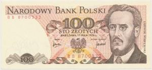100 złotych 1976 - BB