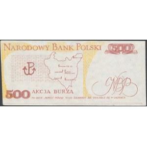 Solidarność, 500 złotych 1939 Tadeusz Bór Komorowski