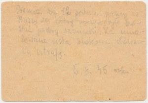 Flossenbürg - bon z obozu koncentracyjnego - 1 RM