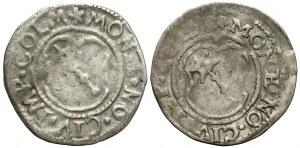 Colmar-Stadt, 2 Krezuer o.J. (1576-1612) - lot (2)