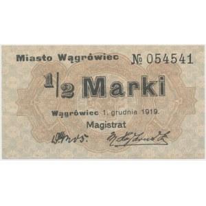 Wągrówiec, 1/2 marki 1919