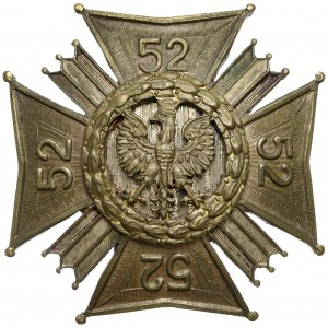 Odznaka, 52 Pułk Piechoty Strzelców Kresowych