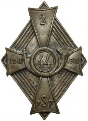 Odznaka, 44 Pułku Strzelców Legii Amerykańskiej
