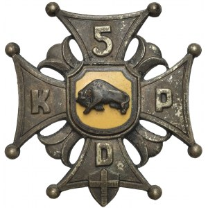 PSZnZ, Odznaka 5 Kresowa Dywizja Piechoty