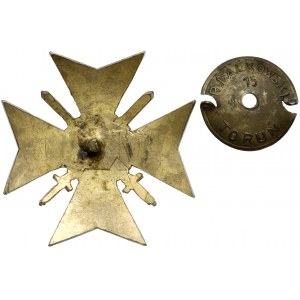 Odznaka, Bóg-Ojczyzna i Wolność - Towarzystwo Powstańców i Wojaków Okręg VIII
