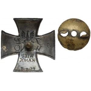 Odznaka, Za Wilno 1919 - WIELKANOC