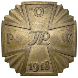 Odznaka, Polska Organizacja Wojskowa