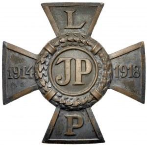 Krzyż Legionowy - JM w srebrze