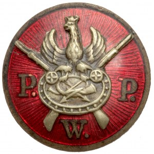 Miniaturka Odznaki, Pocztowe Przysposobienie Wojskowe