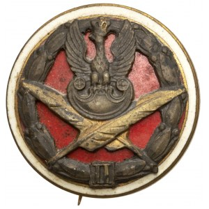 Odznaka urzędnika wojskowego II-go stopnia