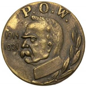 Znaczek P.O.W. 1914-1921- Polska Organizacja Wojskowa