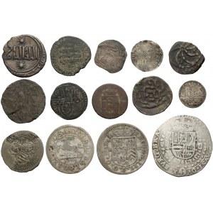 Smolnik, Niderlandy, Islam, mix monet (14szt)