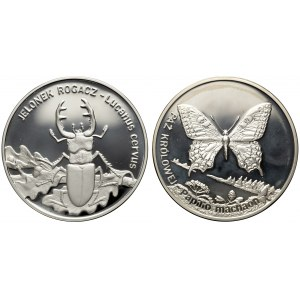 20 złotych 1997, 2001 - Jelonek i Paź - zestaw (2szt)